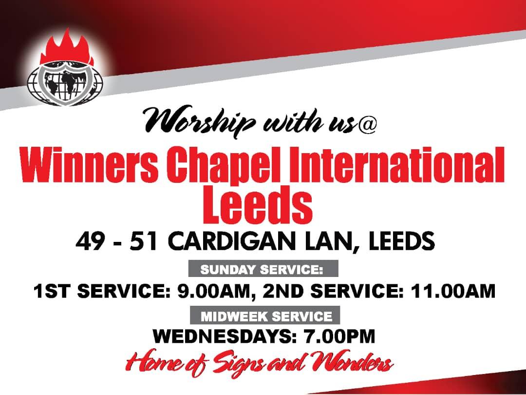 Home Winners Chapel Intn L Leeds